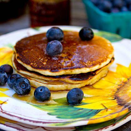 Cornmeal Griddle Pancakes