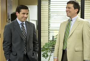 Steve Carell, Ed Helms | Photo Credits: Paul Drinkwater/NBC