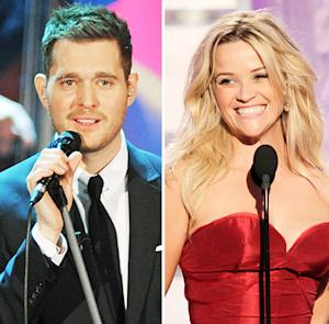 Michael Buble Confirms Collaboration With Reese Witherspoon
