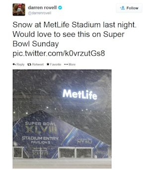 Super Bowl XLVIII Location Stimulates Social Media Conversations image SuperBowl location weather Tweets48