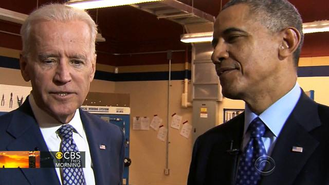Obama and Biden discuss 2016, political future