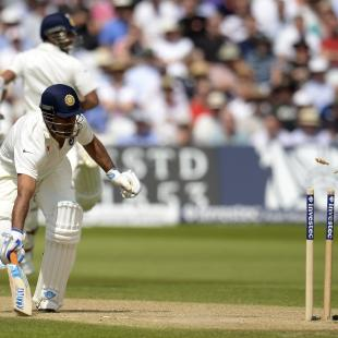 1st Test Live: India crumble after lunch