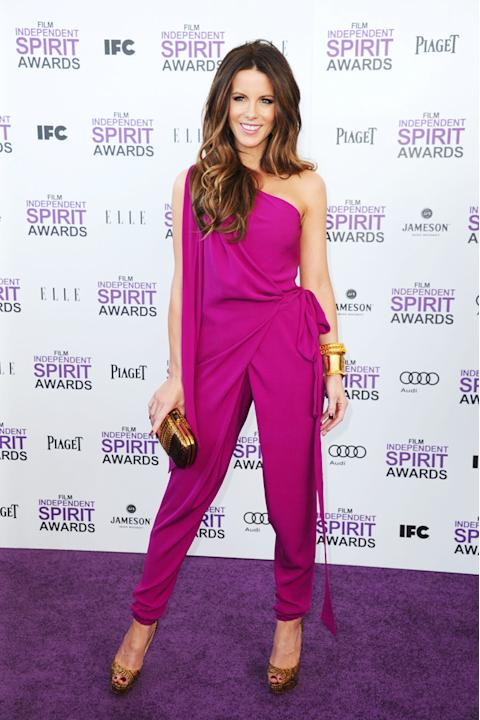 2012 Film Independent Spirit Awards Purple Carpet