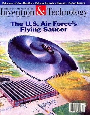 "Portada de la revista ""Invention & Technology"" (1956)"