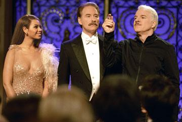 Beyonce Knowles , Kevin Kline and Steve Martin in MGM/Columbia Pictures' The Pink Panther