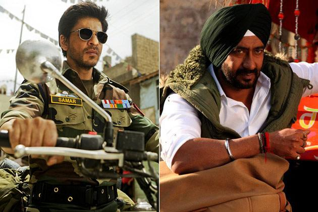It's Shah Rukh vs Ajay Devgn this Diwali