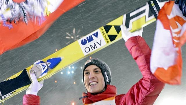Ski Jumping - Schlierenzauer and Zyla share victory in Oslo