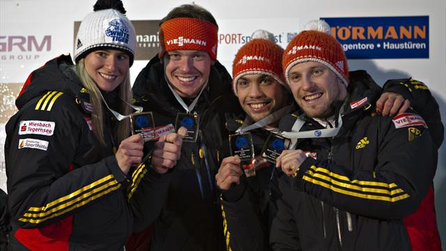 Luge - Another luge world title for dominant Germany