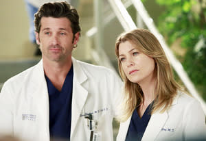 Patrick Dempsey and Ellen Pompeo | Photo Credits: Ron Tom/ABC
