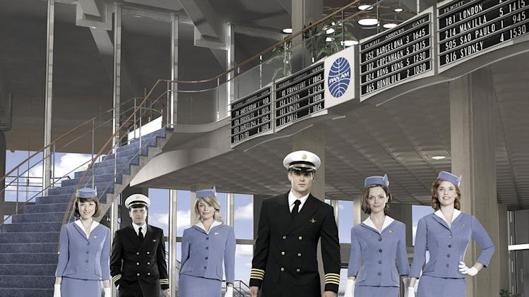 "The cast of ""Pan Am."""