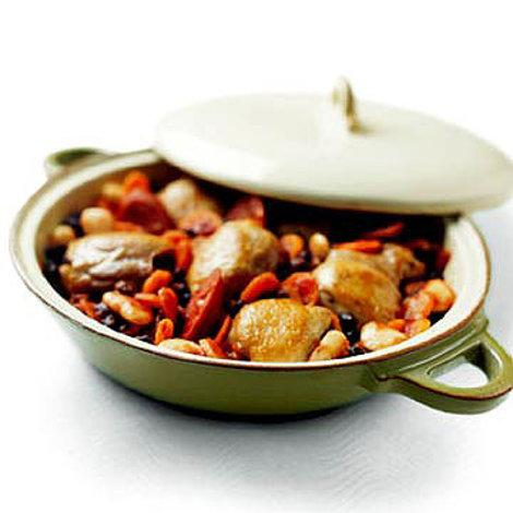 Two-Bean Chicken Cassoulet
