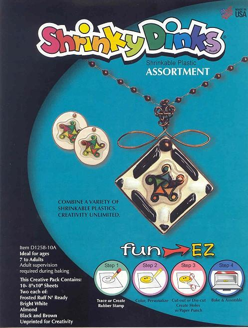 Shrinky Dink sheets ($6.60)
