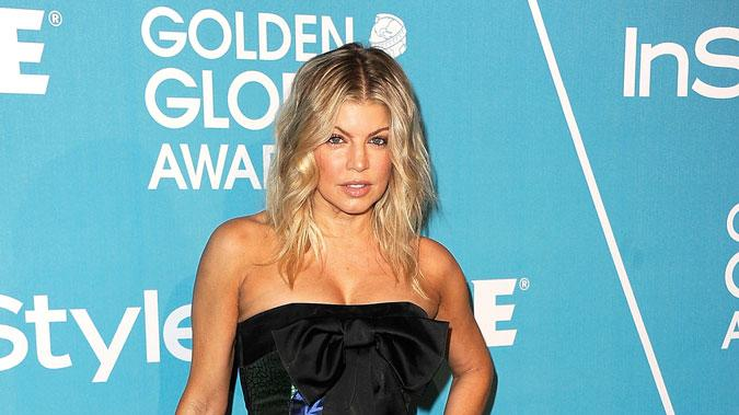 Fergie HFPA In Style Party