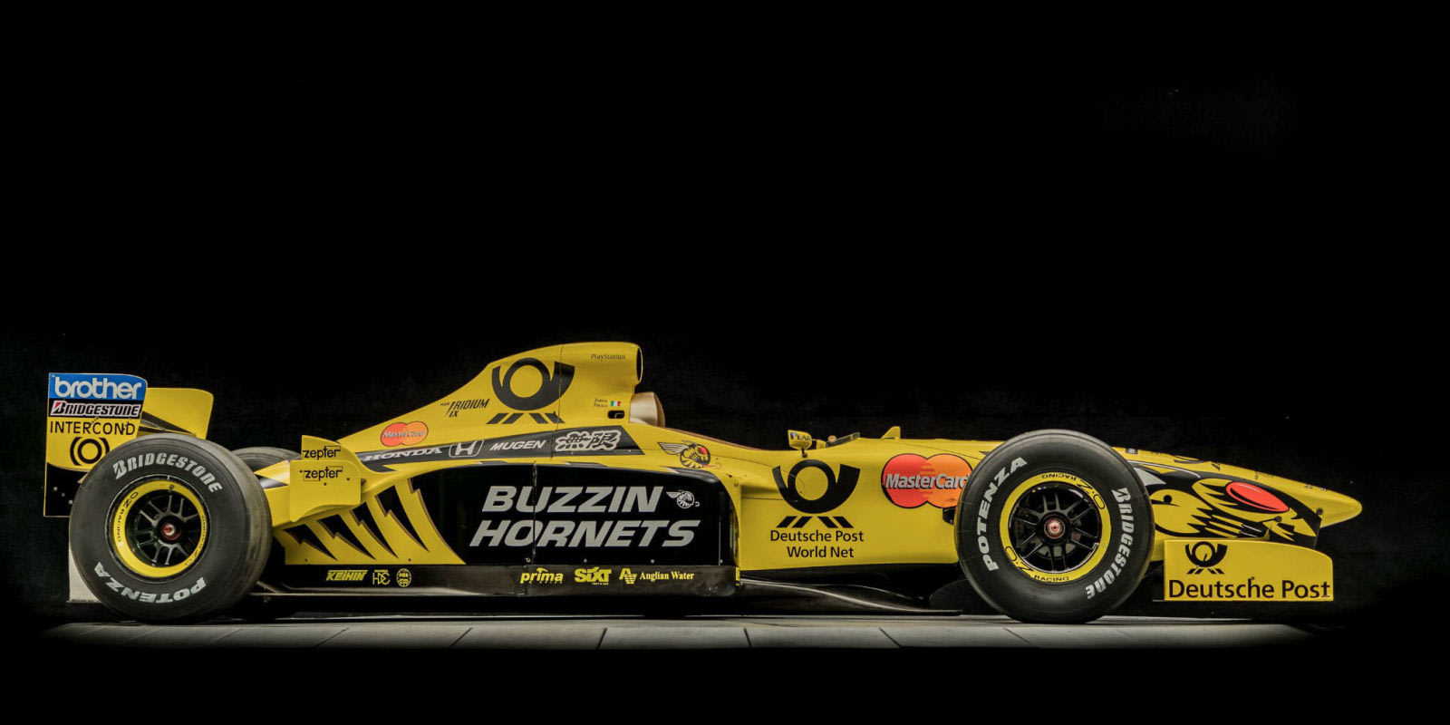 Honda Union City >> The Buzzin'est of Hornets: Jordan F1's 1999 Race Car Is Up For Auction - Yahoo Sport