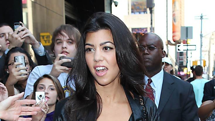 Kourtney Kardashian Out InNY