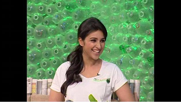 NDTV-Toyota Greenathon: Priyanka, Parineeti dance to Desi Girl