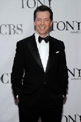 The dapper Sean Hayes at the 64th Annual Tony Awards at Radio City Music Hall in NYC on June 13, 2010 -- Getty Images
