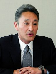 Japan's electronics giant Sony president, Kazuo Hirai, speaks to reporters at the company's headquarters in Tokyo, on January 17, 2013. Hirai said that Sony was selling the company's US headquarters in Manhattan, New York, for $1.1 billion as part of an overhaul aimed at rescuing Sony's tattered balance sheet