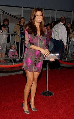 Brooke Burke at the Los Angeles premiere of Walt Disney Pictures' Enchanted