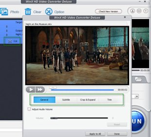WinX HD Video Converter Deluxe Review: Multi functional HD Video Converter   image edit video