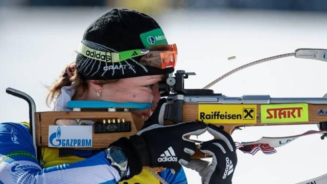 Biathlon - Russia call up Podchufarova to replace Starykh