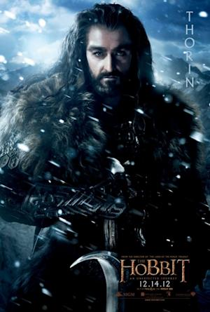 Richard Armitage plays Thorin 'The Hobbit: An Unexpected Journey'  -- MGM