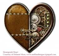 Love Them or Lose Them – LinkedIn Endorsements image steampunk heart 550 white background with credit 250x239