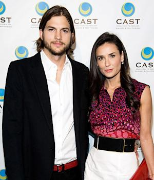 "Demi Moore Is ""Not Psyched"" About Ex Ashton Kutcher Dating Mila Kunis"