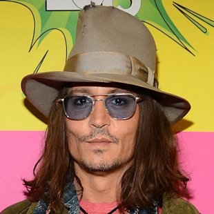 Johnny Depp with long hair - celebrity men hairstyles - long hairstyles - celebrity hair and beauty - handbag.com
