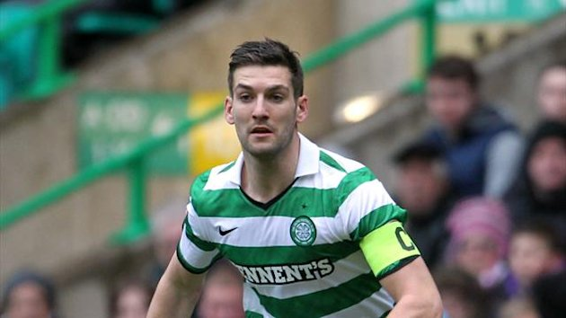 Charlie Mulgrew, pictured, hopes star striker Gary Hooper can be persuaded to stay at Celtic