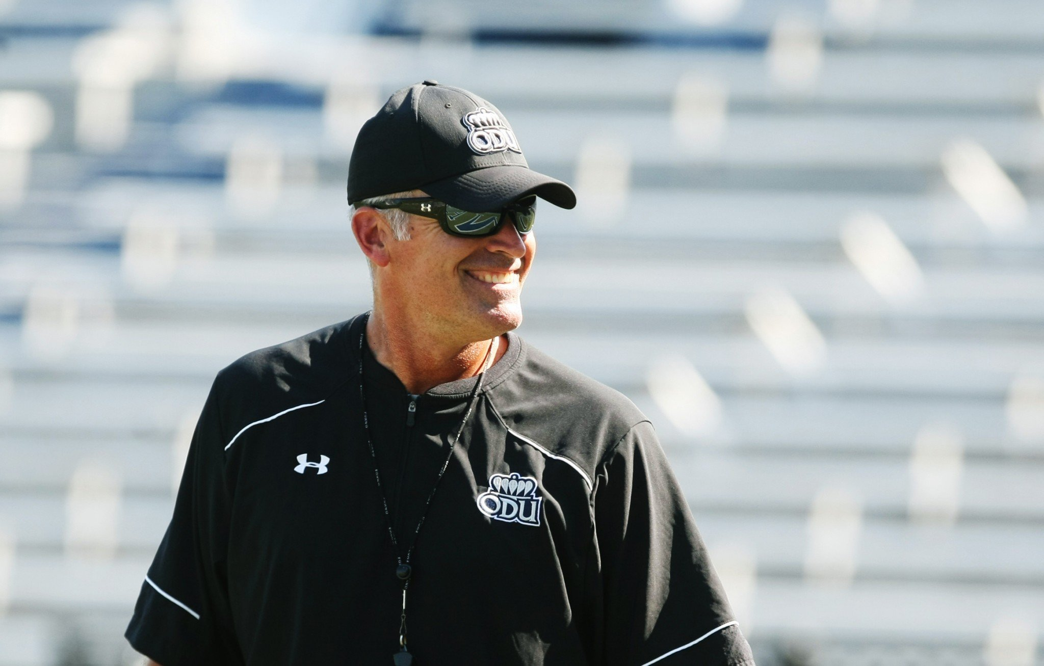 Old Dominion coach Bobby Wilder's team finishes the year 10-3. (AP)
