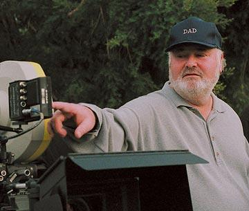 Director Rob Reiner on the set of Warner Bros. Pictures' The Bucket List