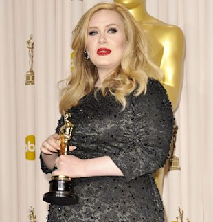 Adele's James Bond Theme 'Skyfall' Sales Expected To Rocket After Oscar Peformance