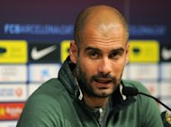 German giants Bayern Munich are in talks to sign former Barcelona coach Pep Guardiola, seen here in April 2012, when current boss Jupp Heynckes steps down in 2013