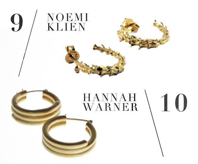 'In Detail' Jewellery Bloggers Reveal The Hottest Gold Hoop Earrings