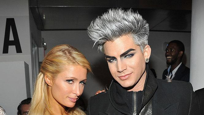 Paris Hilton, Adam Lambert