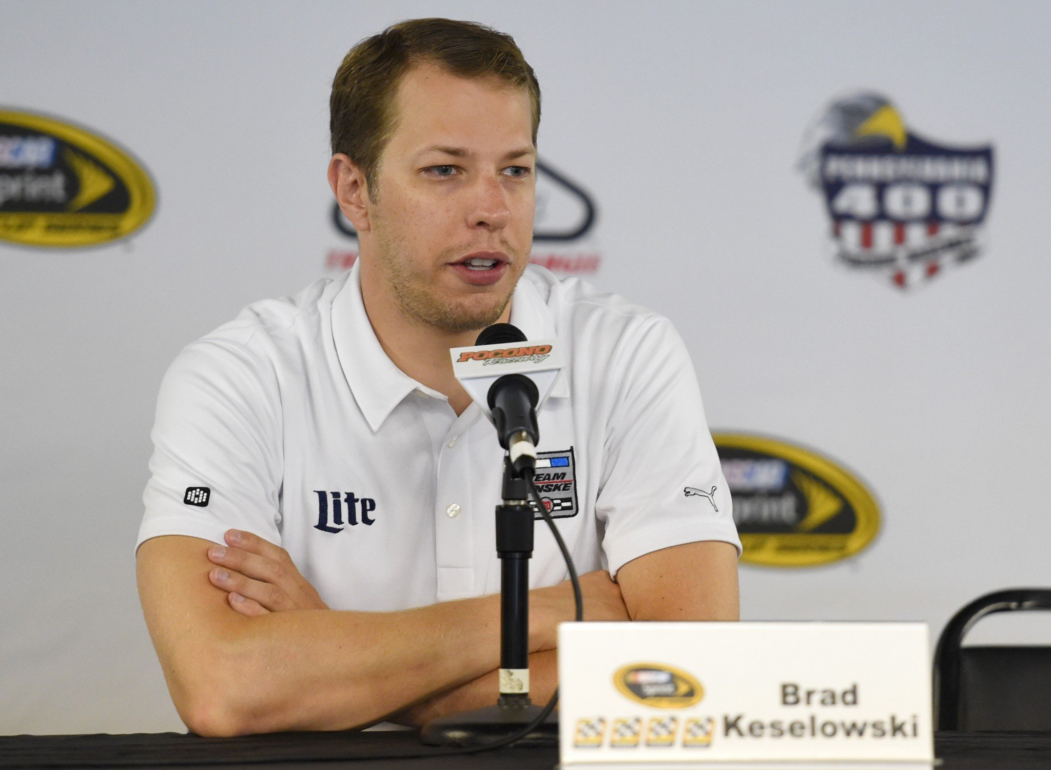 Keselowski is tied for the series lead in wins with four (Getty Images).