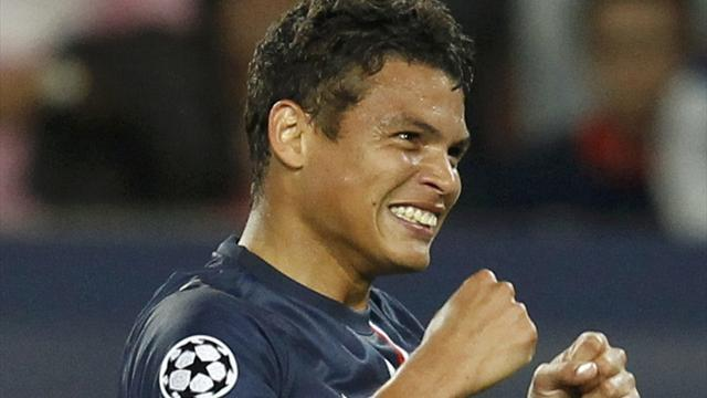 Ligue 1 - Thiago Silva extends PSG deal