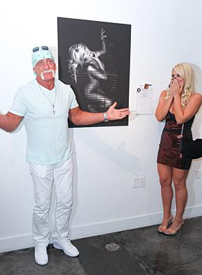 "Brooke Hogan: I Don't Have a ""Perverted Relationship"" With Dad Hulk"