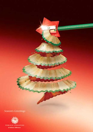 Top 15 Most Creative Christmas Advertisements image christmas ad 1