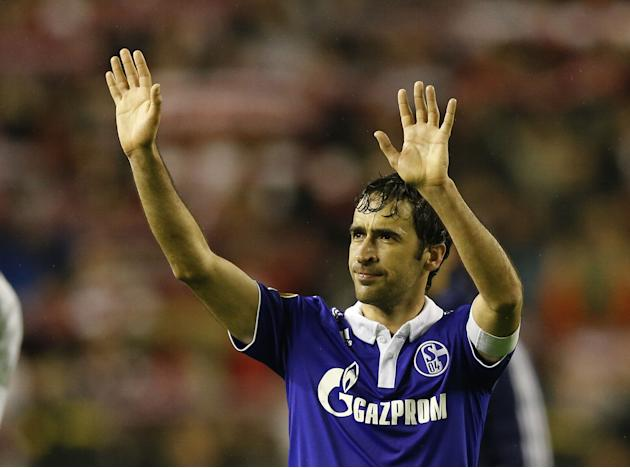 FILE: Raul To Leave FC Schalke 04 At The End Of The Season