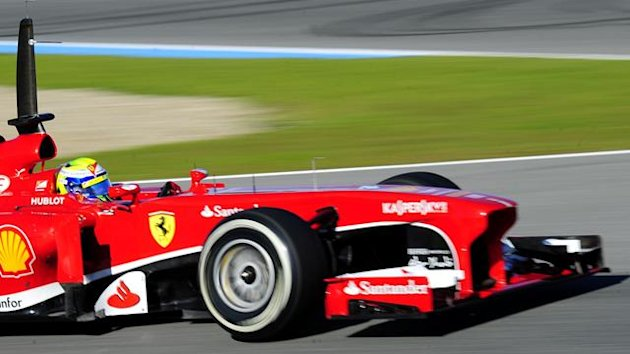 2013 Tests Jerez Ferrari Massa