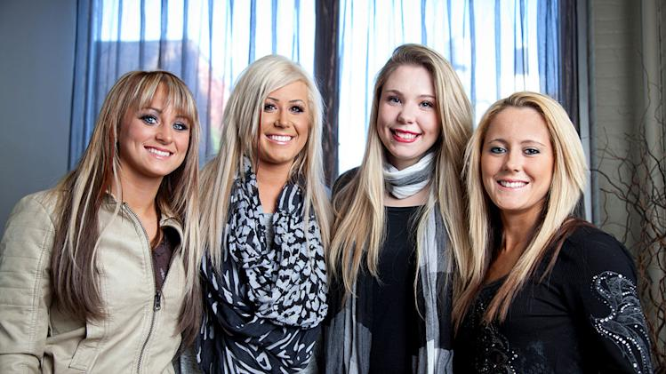 "The cast of ""Teen Mom 2."""