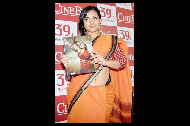 Vidya Balan as 'Mother India'