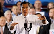 "Republican White House hopeful Mitt Romney, pictured last week, has appeared to contradict previous campaign statements by saying President Barack Obama's health reform law entails a ""tax"" and not a penalty"