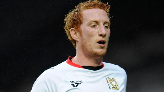 League One - Skipper Lewington pens new MK Dons deal
