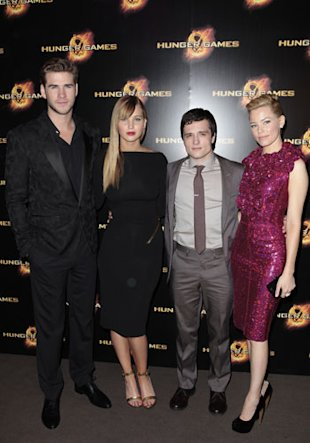 Jennifer Lawrence Wears Tom Ford At The Hunger Games Paris Premiere