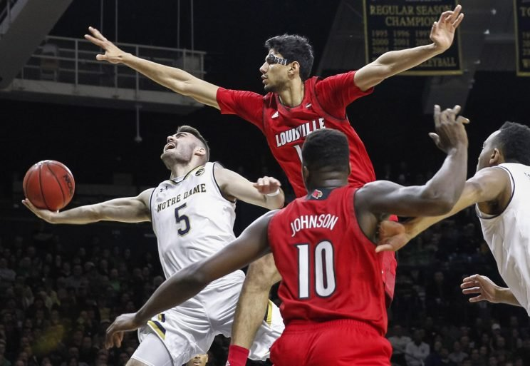 Notre Dame's Matt Farrell might be the most improved player in college basketball. (Getty)