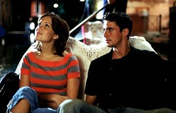 Mandy Moore and Matthew Goode in Warner Bros. Chasing Liberty