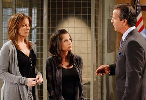 Nancy Lee Grahn, Kelly Monaco,  Bradley Cole  | Photo Credits: Ron Tom/ABC